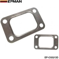 10PCl/LOT EPMAN T3 T34 T35 T38 GT35 GT35R Turbo Turbine Inlet Manifold Gasket 304 Stainless Steel EP-CGQ13D
