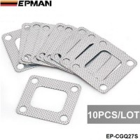 EPMAN --10PCS/LOT  3 layer composite Turbo gasket T4 exhaust turbine inlet manifold EP-CGQ27S