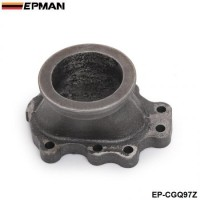 EPMAN 2.5 inch V-band Turbo Charger Flange Adapter 8 Bolt Outlet T2 T25 T28 GT25 GT28 EP-CGQ97Z