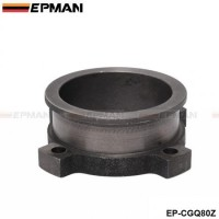 "EPMAN 3"" 4 Bolt To 3"" V-Band Adaptor Turbo Exhaust Flange T3 GT3582 GT35 Cast Gasket EP-CGQ80Z"