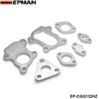 EPMAN- Mild Steel RHB31 VZ21 Turbocharge Turbo Flanges Seven Piece Complete Set EP-CGQ132HZ