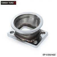"TANSKY - Steel Adaptor for T3 4Bolt to 3"" V-Band Flange For Toyota Acura Honda BMW EP-CGQ142Z"