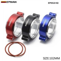 "EPMAN - Exhaust V-band Clamp High Pressure Aluminium For 4"" OD Turbo Exhaust / Intercooler Pipe EPKKA102"
