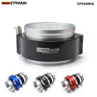 "EPMAN HD Exhaust V-band Clamp w Flange System Assembly For 3.5"" 89mm Radiator Hose Wastegate Flanges Turbo Dump Pipe EPSS89KB"