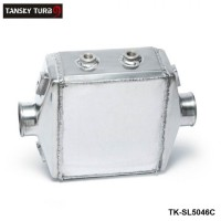 "TANSKY- Universal Aluminum Water-to-Air Liquid Racing Intercooler Core: 250 X 220 X 115mm Inlet/Outlet: 3"" TK-SL5046C"