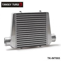 "TANSKY - Universal Turbo Intercooler 280x300x76 Front Mount Intcooler For Honda Civic Integra Saab 3"" Inlet & Oulet TK-INT003"