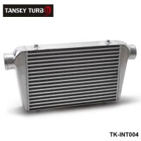 "TANSKY - Universal Turbo Intercooler 450x300x76 Front Mount Intcooler For Honda Civic Integra Saab 3"" Inlet & OuletTK-INT004"