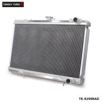 TANSKY -Performance 50mm 2 Row Alloy aluminum radiator For Nissan Skyline R32 RB20/25 89-93 Manual TK-R299RAD