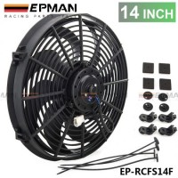 "EPMAN 14"" Universal 12 V 120W Slim Pull Push Racing Electric Radiator Engine Cooling Fan EP-RCFS14F"