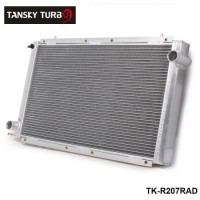 TANSKY -Performance Radiator Manual aluminum 42mm2 Row For 92-00 SUBARU IMPREZA WRX/Sti GC8 TK-R207RAD