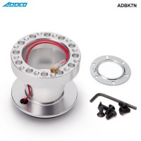ADDCO Racing Aluminium Steering Wheel with Boss Adapter Hub Kit For Nissan Skyline S13 S14 S15 R33 R34 ADBK7N