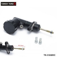 TANSKY -0.7 Inch Master Cylinder with oil tank For Hydraulic Hand Brake Drift E-Brake Black  TK-CGQ93C