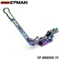 EPMAN Neo Chrome Adjustable Billet Hydraulic Horizontal Drift Rally E-brake Racing Handbrake Lever EP-B88008-7C