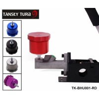 TANSKY Hydraulic Drift Handbrake Oil Tank for Hand Brake Fluid Reservoir E-brake (COLOR: RED BLUE BLACK SILVER PURPLE )TK-BHU001