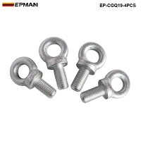 4PCl/LOT EPMAN Competition Harness Eye Bolt size:7/16 Set Of 4pcs for TAKATA,SABLET,SP ECT BRAND HARNESS RACING SEAT BELTS EP-CGQ19-4PCS