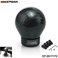 EPMAN- Real Carbon Fiber Aluminum Gear Snob Manual Transmission Aluminum Gear Shift Knob For Honda VW BMW EP-SK1717S