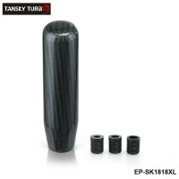 TANSKY -130mm Carbon Fiber Manual Transmission Aluminum Gear Shift Knob For Honda VW BMW EP-SK1818XL