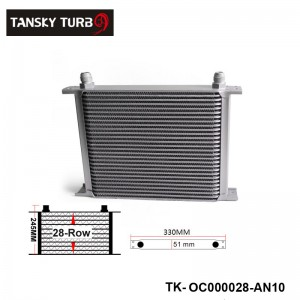 Universal 28-Row Engine/Transmission 10-AN Oil Cooler Have in stock TK-OC000028-AN10
