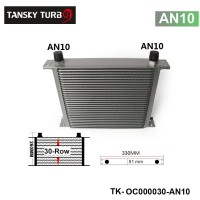 Tansky - Universal 30-Row Engine/Transmission 10AN  Oil Cooler Have in stock TK-OC000030-AN10