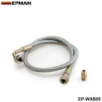 "EPMAN -24"" Oil Line Kit For T3/T4 Turbo Oil Feed Line Kit For Toyota Nissan EP-WXB05"