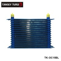 15rows 50mm thick aluminium universal TRUST TYPE oil cooler TK-OC15BL