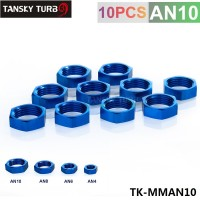 "TANSKY - AN10 AN-10 7/8""-14  HEX NUT For Male Union Flare Bulkhead Fitting Adapter TK-MMAN10"