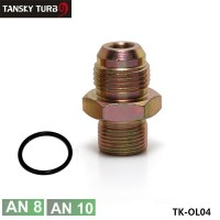 TANSKY-Engine Oil Block Adapter M20 x 1.50 Fittings (AN8&AN10) TK-OL04