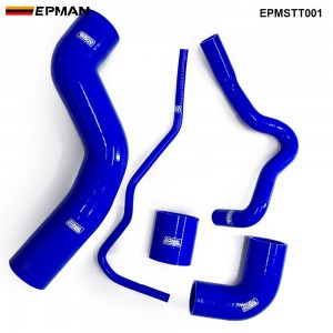 EPMAN - Silicone Intercooler Turbo Boost Hose Kit For Seat 1.8T 150 / A3 150ps (5pcs) EPMSTT001
