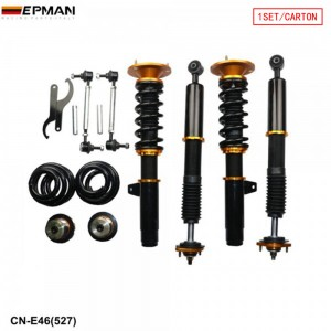 Tansky Coilovers Spring Struts Racing Suspension Coilover Kit Shock Absorber For 01-05 BMW E46 330i/330Ci/330xi CN-E46(527)