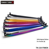 SUB-FRAME LOWER TIE BAR REAR FOR EK (Silver, Golden,  Purple, Blue, Red, Black,Neochrome ) with BEAKS Sticker TK-CA1789EK