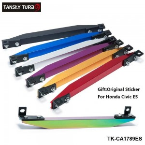 Tansky - SUBFRAME LOWER TIE BAR ES REAR with BEAKS Sticker Fit Civic Ep Integra Dc5 Civic Coupe Em2  TK-CA1789ES