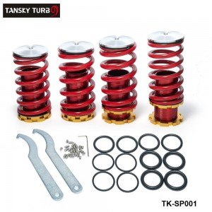 Tansky - Coilover Springs for Honda Civic 88-00 Red available and The other color need to make by order TK-SP001