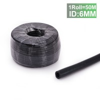 Tansky -  50M ID:6MM Silicone Vacuum Hose Tube Tubing Turbo Dump Radiator for Air / Water Black EP-VS-6-1R
